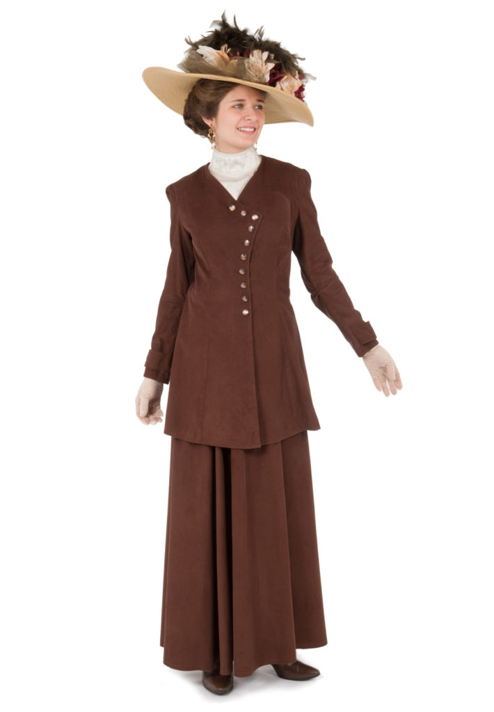 Sienna Edwardian Corduroy Suit