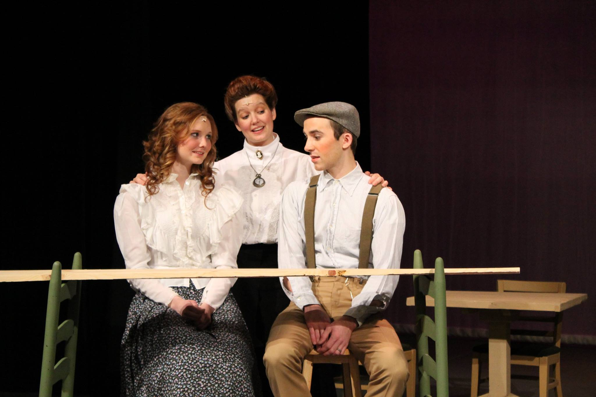 Spencer Community Theatre production of Our Town