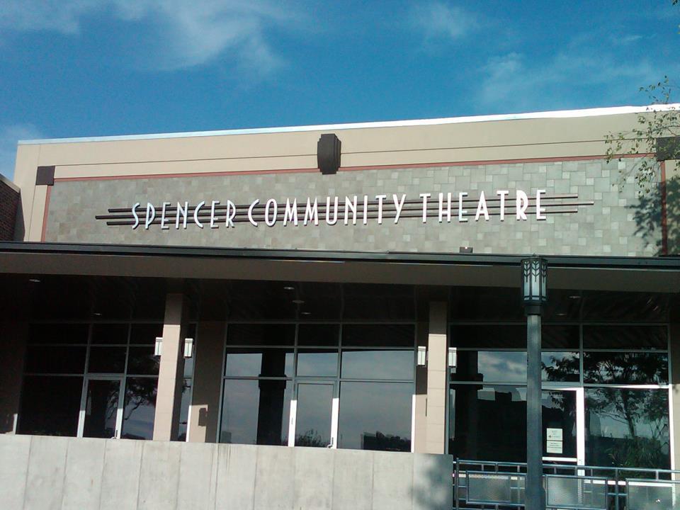Spencer Community Theatre's facade