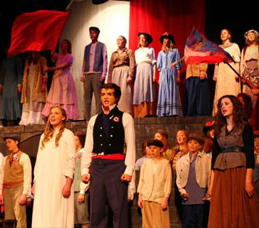 Spencer Community Theatre's producton of Les Miserables