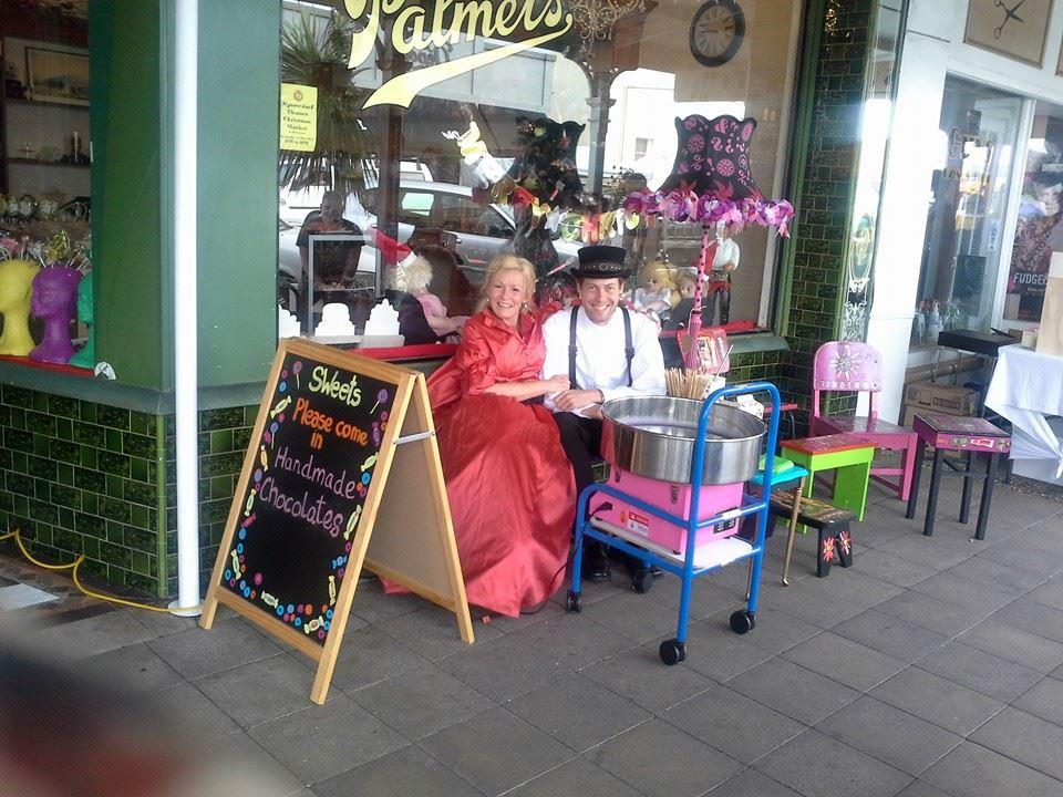Palmer's Sweet Shop modern exterior