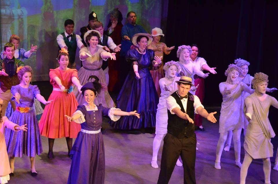 Selma Arts Center cast of Mary Poppins