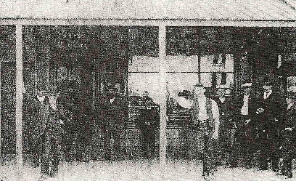 Palmer's Sweet Shop old