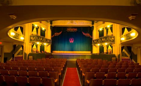 Elks Opera House interior