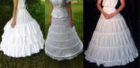 Hoop Skirt Crinolines