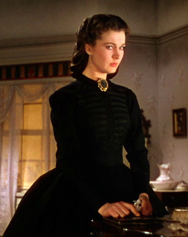Up on the Big Screen: Civil War Dresses in Gone with the