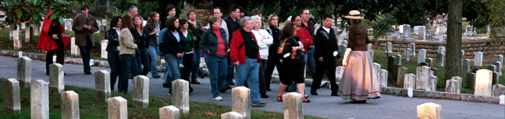 Historic Oakland Foundation walking tour of Oakland Cemetery