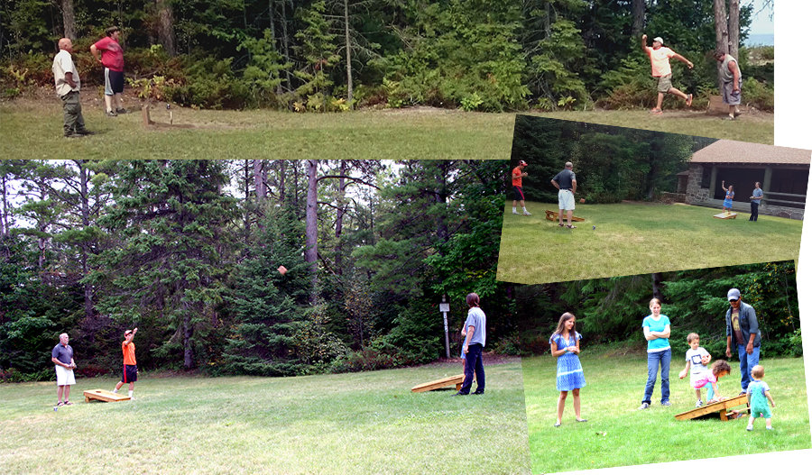 Recollections picnic - outdoor games
