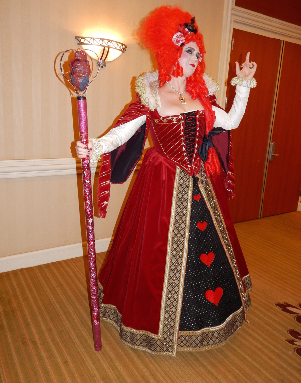 Costume College 2015 Queen of Hearts