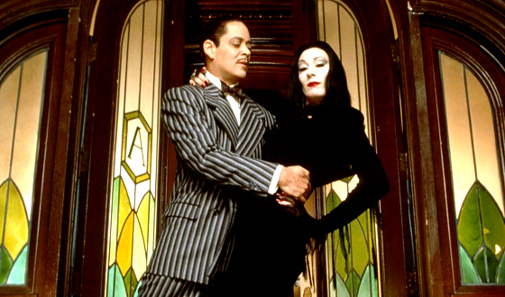 Family Halloween fun movie - The Addams Family