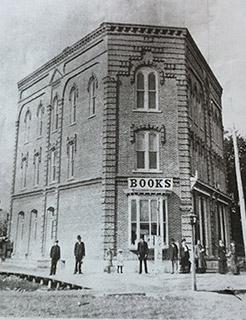 Centennial Building, Alpena Michigan; original facade