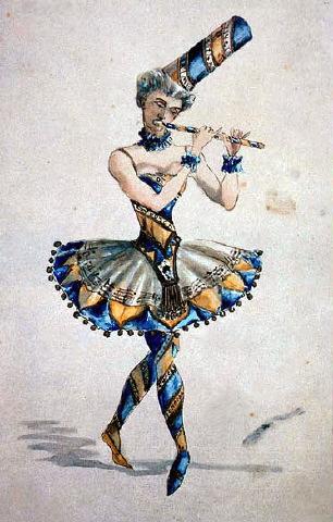 original Nutcracker costume sketch