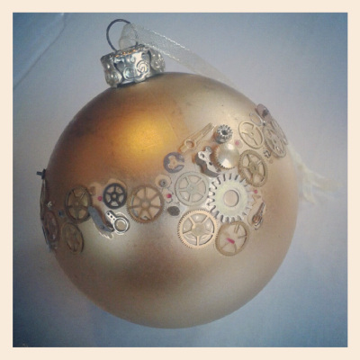 DIY Christmas ornament bauble