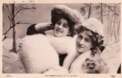 Winter hats and muffs in the Victorian era