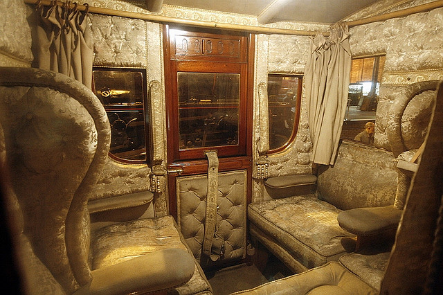 First royal train carriage