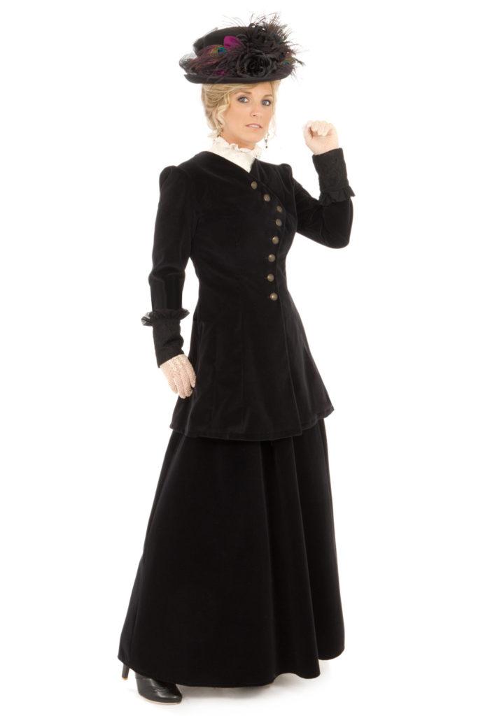 Edwardian Velvet Suit
