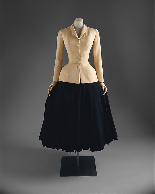 "Christian Dior ""Bar Suit"" 1947"