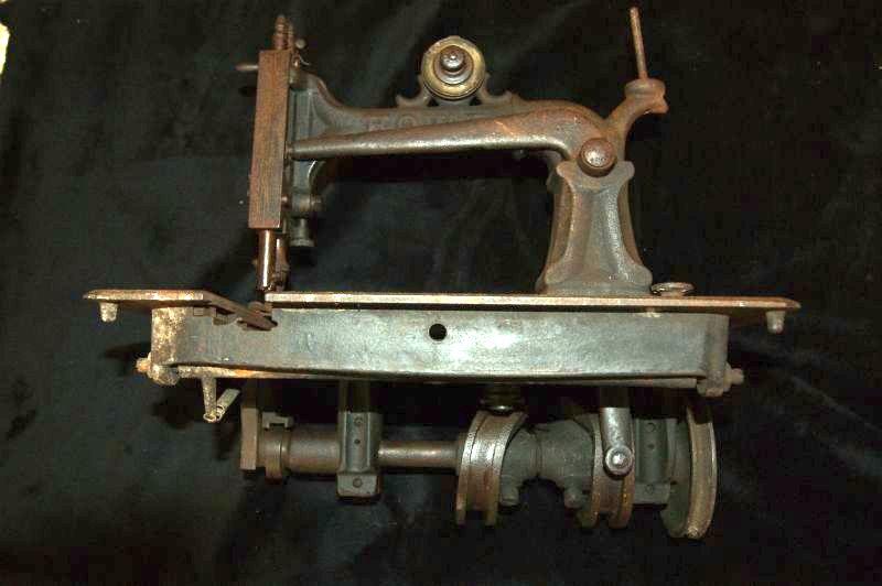 Early Elias Howe sewing machine