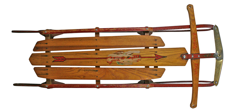 vintage Flexible Flyer sled