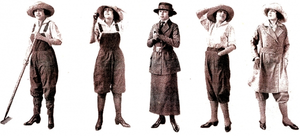 Women's Fashion - WWI
