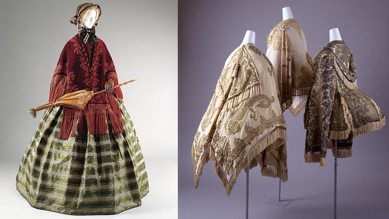 Victorian mantelets (cloaks)