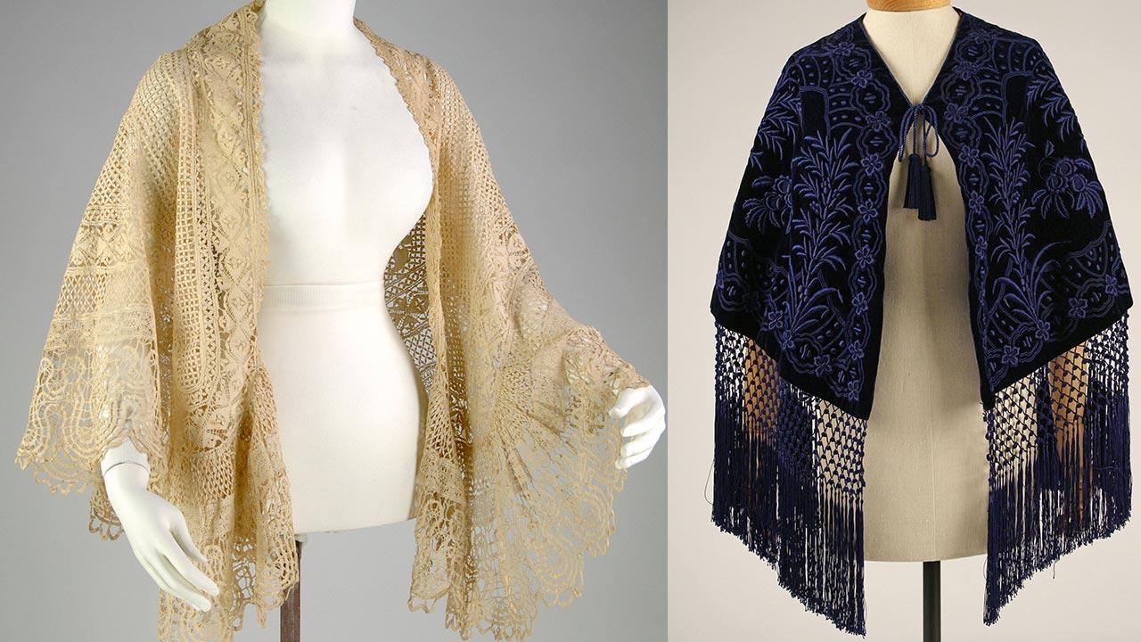 ladies' mantelet - Victorian cloak