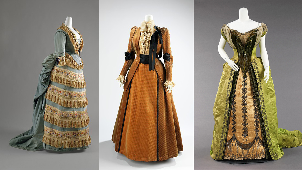 Charles Frederick Worth couture from the Metropolitan Museum of Art