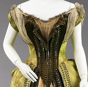 Charles Frederick Worth couture at the Metropolitan Museum of Art