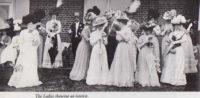 Edwardian Women at Royal Ascot