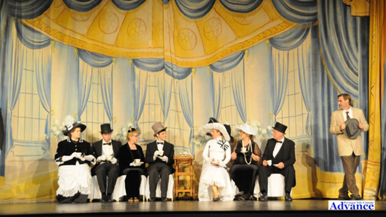 Ascot scene from My Fair Lady