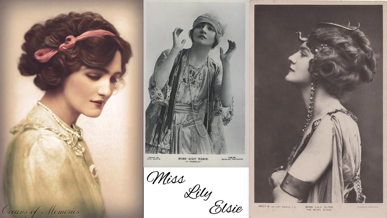 Lily Elsie - Edwardian beauty