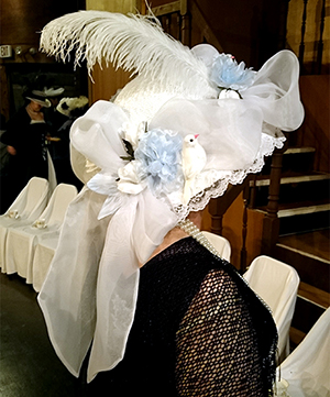 fancy hat from the musical My Fair Lady