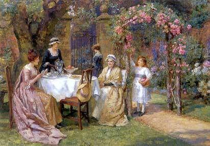 Victorian Tea Tradition