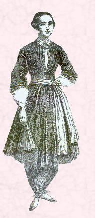 Dress reform - Amelia Jenks Bloomer