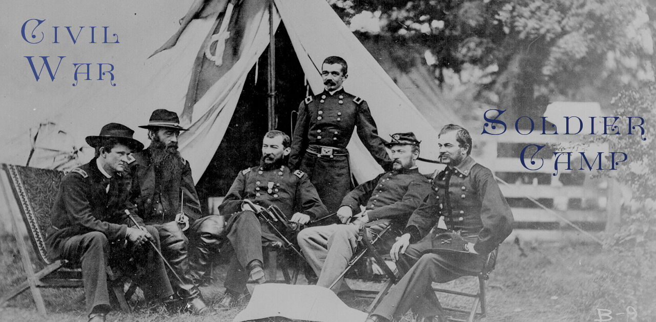 Civil War soldiers summer camp