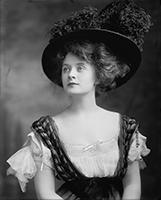Billie Burke; Edwardian beauty