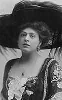 Ethel Barrymore; Edwardian beauty
