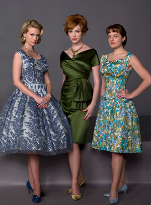 The women of Mad Men
