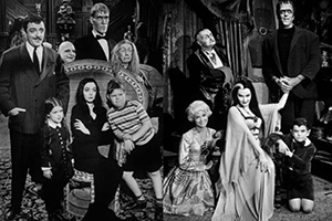 Addams Family and Munsters cast 1960s