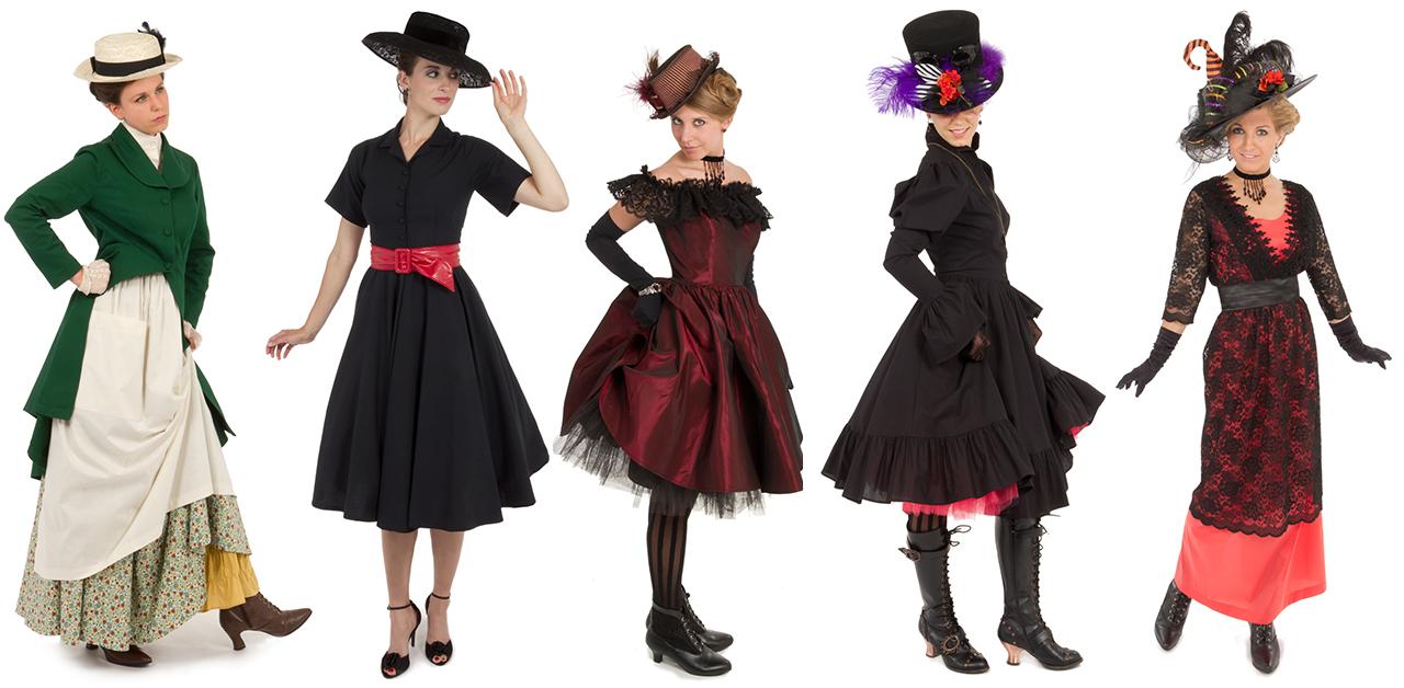 Halloween celebration costumes