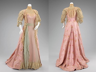 House of Worth Tea Gown