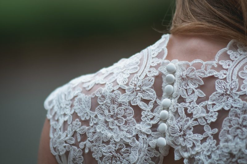 victorian lace gown