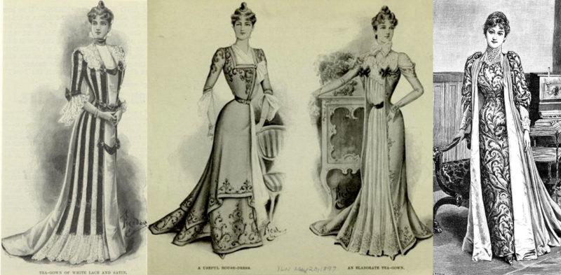 tea gowns