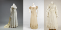 evolution of Regency period women's fashions