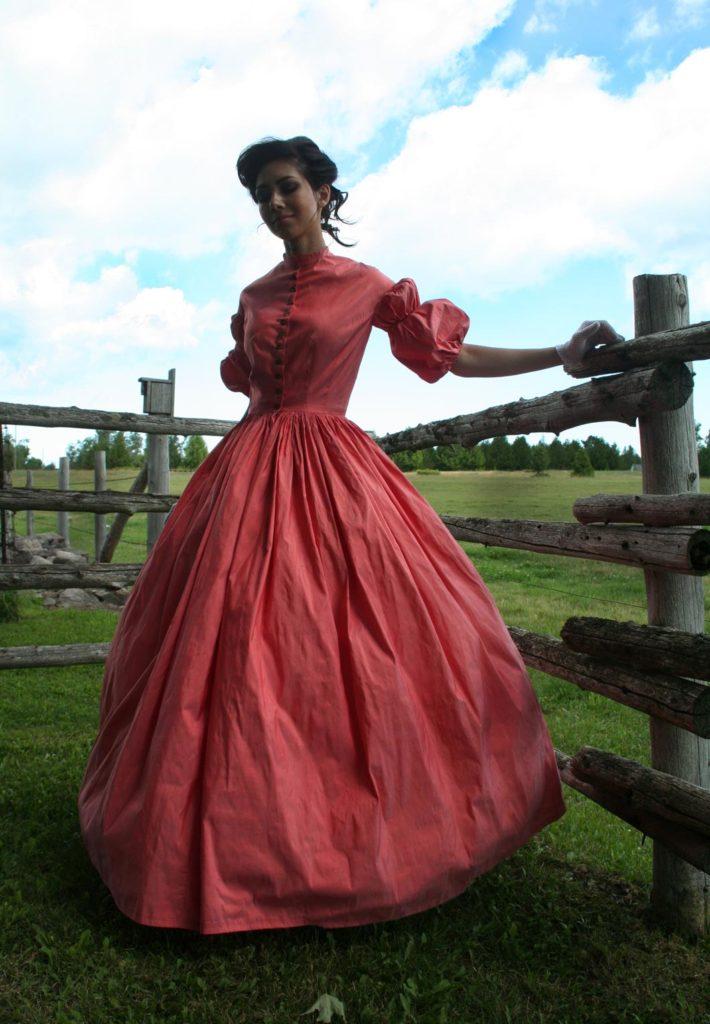 Tara Civil War Styled Gown