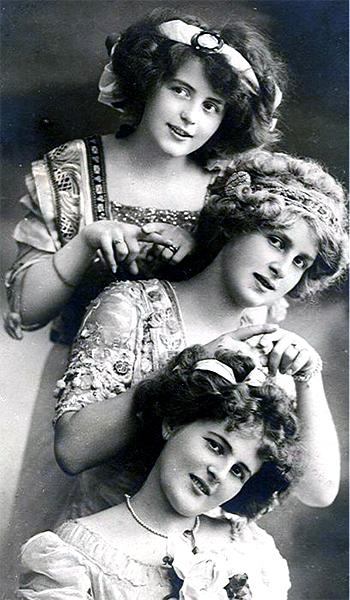 3 Victorian women - photo caption contest