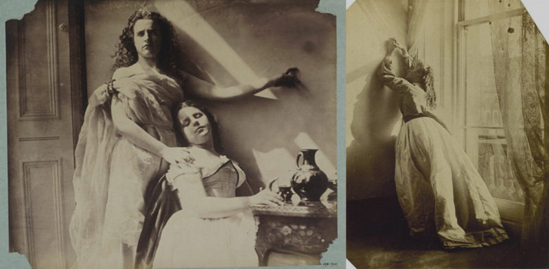 photos of Lady Clementina Hawarden's daughters