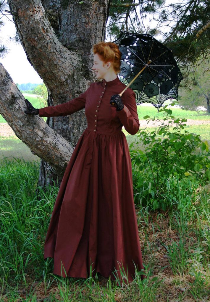 Victorian Cotton Dress