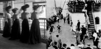 Victorian ladies travel wardrobe for ocean excursions