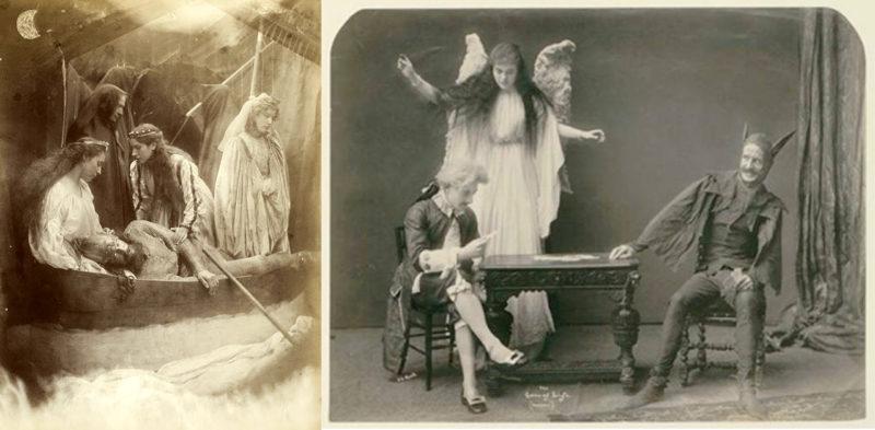 Victorian vignette photos